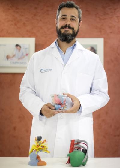 Health Time desarrolla una técnica de impresión 3D para tratar el cáncer de pulmón